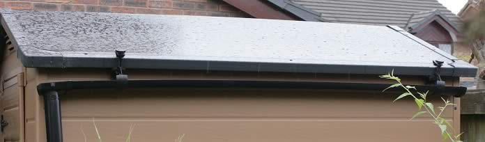 Water Saving Shed Gutter