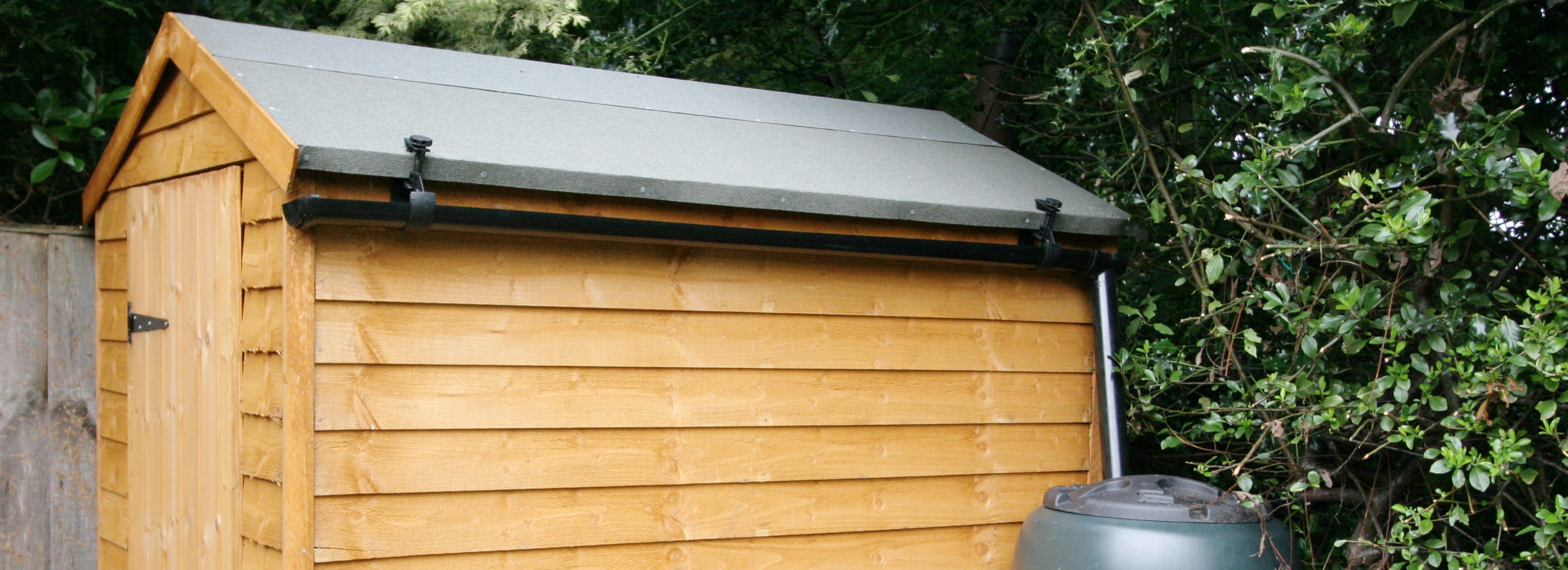 how to install rain gutters on a metal building