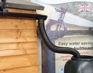 Hall's Rainsaver Gutter Kit with 1m Flexible Pipe